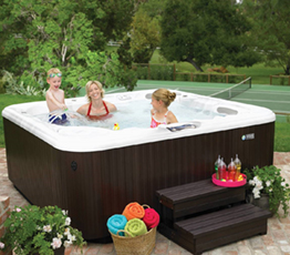 Happy Hot Tubs Sponsors Family Fun Area