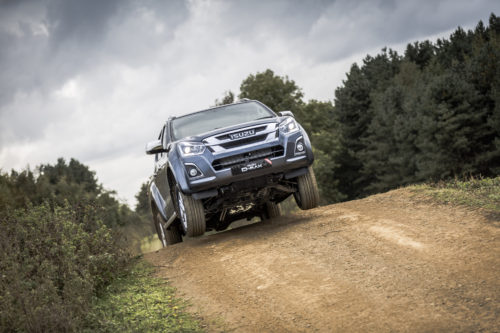 Try the new Isuzu generation D-Max at the Show!