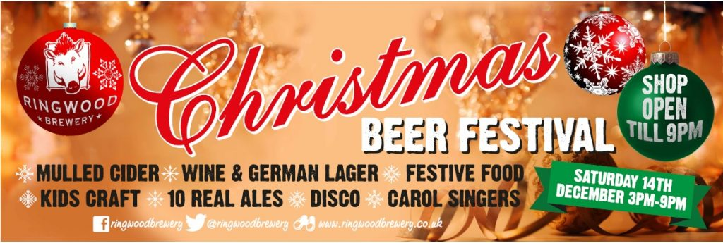 Christmas Beer Festival with Ringwood Brewery